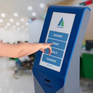 Kiosk – Dokunmatik Sıramatik Sistemi