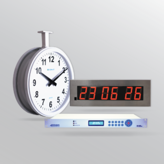 IP Based Synchronized Clock Systems